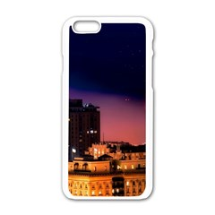 San Francisco Night Evening Lights Apple Iphone 6/6s White Enamel Case by BangZart