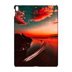 Sunset Dusk Boat Sea Ocean Water Apple Ipad Pro 10 5   Hardshell Case