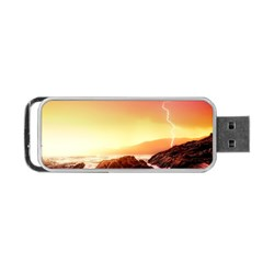 California Sea Ocean Pacific Portable Usb Flash (one Side)