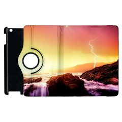 California Sea Ocean Pacific Apple Ipad 2 Flip 360 Case