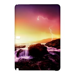 California Sea Ocean Pacific Samsung Galaxy Tab Pro 12 2 Hardshell Case by BangZart