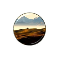 Landscape Mountains Nature Outdoors Hat Clip Ball Marker (4 Pack)