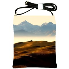 Landscape Mountains Nature Outdoors Shoulder Sling Bags