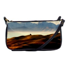 Landscape Mountains Nature Outdoors Shoulder Clutch Bags