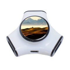 Landscape Mountains Nature Outdoors 3 Port Usb Hub
