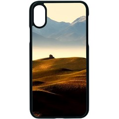 Landscape Mountains Nature Outdoors Apple Iphone X Seamless Case (black) by BangZart