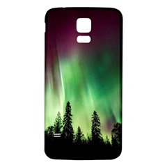 Aurora Borealis Northern Lights Samsung Galaxy S5 Back Case (white) by BangZart