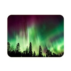 Aurora Borealis Northern Lights Double Sided Flano Blanket (mini)