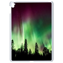 Aurora Borealis Northern Lights Apple Ipad Pro 9 7   White Seamless Case
