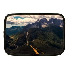 Italy Valley Canyon Mountains Sky Netbook Case (medium)  by BangZart