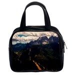 Italy Valley Canyon Mountains Sky Classic Handbags (2 Sides) Front