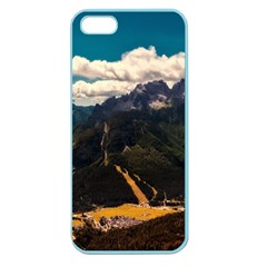 Italy Valley Canyon Mountains Sky Apple Seamless Iphone 5 Case (color) by BangZart