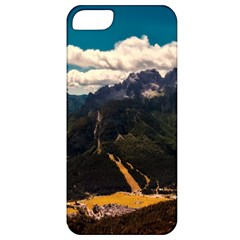 Italy Valley Canyon Mountains Sky Apple Iphone 5 Classic Hardshell Case by BangZart