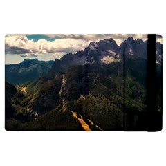 Italy Valley Canyon Mountains Sky Apple Ipad 3/4 Flip Case by BangZart