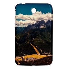 Italy Valley Canyon Mountains Sky Samsung Galaxy Tab 3 (7 ) P3200 Hardshell Case