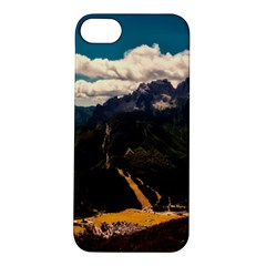 Italy Valley Canyon Mountains Sky Apple Iphone 5s/ Se Hardshell Case by BangZart