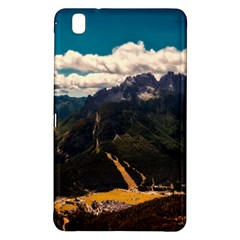 Italy Valley Canyon Mountains Sky Samsung Galaxy Tab Pro 8 4 Hardshell Case