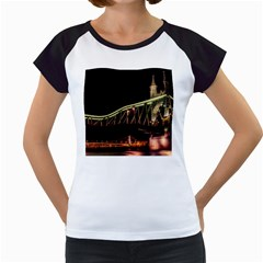 Budapest Hungary Liberty Bridge Women s Cap Sleeve T by BangZart