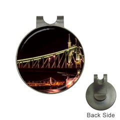 Budapest Hungary Liberty Bridge Hat Clips With Golf Markers by BangZart