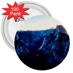 Yosemite National Park California 3  Buttons (100 Pack)  by BangZart