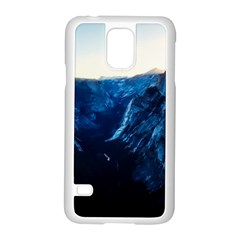 Yosemite National Park California Samsung Galaxy S5 Case (white) by BangZart