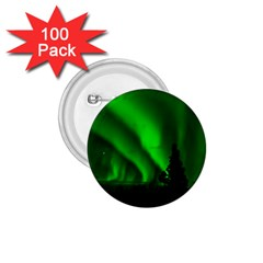 Aurora Borealis Northern Lights 1 75  Buttons (100 Pack)