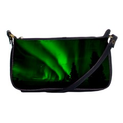 Aurora Borealis Northern Lights Shoulder Clutch Bags by BangZart