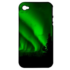 Aurora Borealis Northern Lights Apple Iphone 4/4s Hardshell Case (pc+silicone)