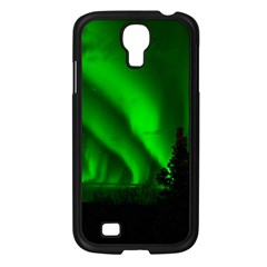 Aurora Borealis Northern Lights Samsung Galaxy S4 I9500/ I9505 Case (black) by BangZart