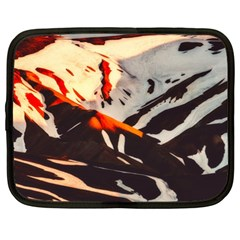 Iceland Landscape Mountains Snow Netbook Case (xl)  by BangZart