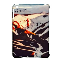 Iceland Landscape Mountains Snow Apple Ipad Mini Hardshell Case (compatible With Smart Cover)