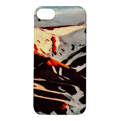 Iceland Landscape Mountains Snow Apple Iphone 5s/ Se Hardshell Case by BangZart