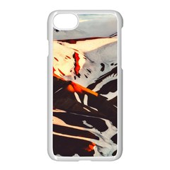 Iceland Landscape Mountains Snow Apple Iphone 7 Seamless Case (white)