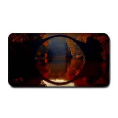 River Water Reflections Autumn Medium Bar Mats