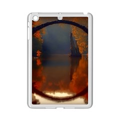 River Water Reflections Autumn Ipad Mini 2 Enamel Coated Cases by BangZart