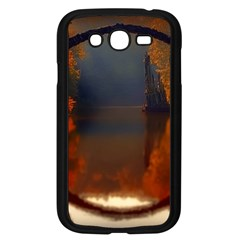 River Water Reflections Autumn Samsung Galaxy Grand Duos I9082 Case (black)