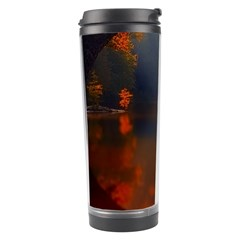 River Water Reflections Autumn Travel Tumbler