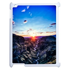 Iceland Landscape Mountains Stream Apple Ipad 2 Case (white)