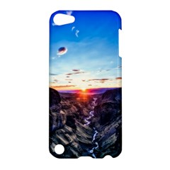 Iceland Landscape Mountains Stream Apple Ipod Touch 5 Hardshell Case
