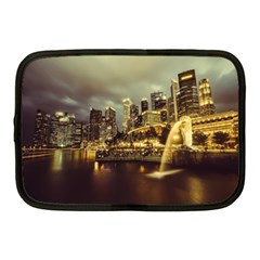Singapore City Urban Skyline Netbook Case (medium)  by BangZart
