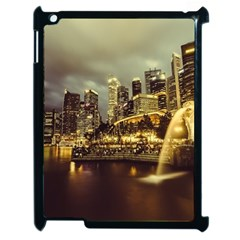 Singapore City Urban Skyline Apple Ipad 2 Case (black)