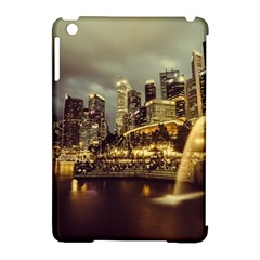 Singapore City Urban Skyline Apple Ipad Mini Hardshell Case (compatible With Smart Cover) by BangZart