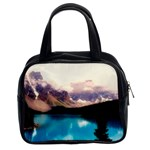 Austria Mountains Lake Water Classic Handbags (2 Sides) Front