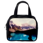 Austria Mountains Lake Water Classic Handbags (2 Sides) Back