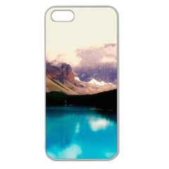 Austria Mountains Lake Water Apple Seamless Iphone 5 Case (clear)
