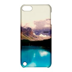 Austria Mountains Lake Water Apple Ipod Touch 5 Hardshell Case With Stand