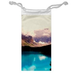 Austria Mountains Lake Water Jewelry Bag