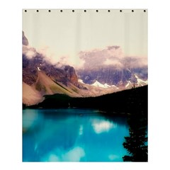 Austria Mountains Lake Water Shower Curtain 60  X 72  (medium)  by BangZart