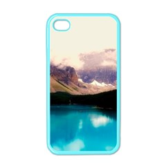 Austria Mountains Lake Water Apple Iphone 4 Case (color)