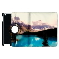 Austria Mountains Lake Water Apple Ipad 3/4 Flip 360 Case